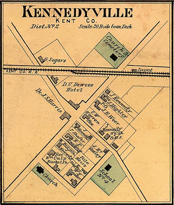Kennedyville 1876