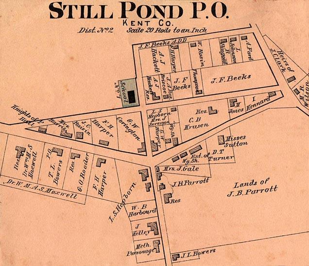 Still Pond 1876