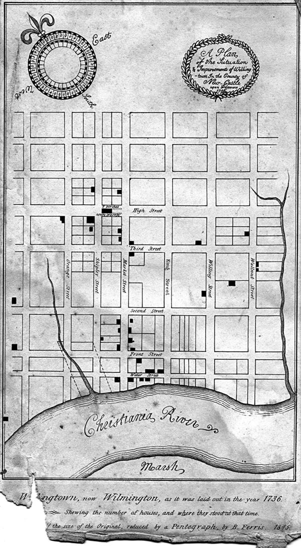 Wilmington, Delaware 1736